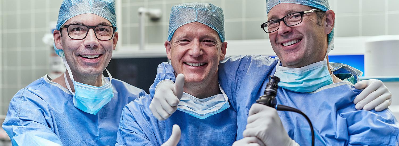 Das Ärzteteam der Urologie Emmendingen Dr. M. Meilinger - Dr. S. Andreas – Dr. S. Carl