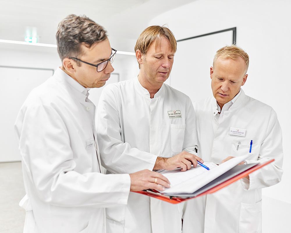 Visite – Besprechung im Ärzteteam – Urologie Emmendningen